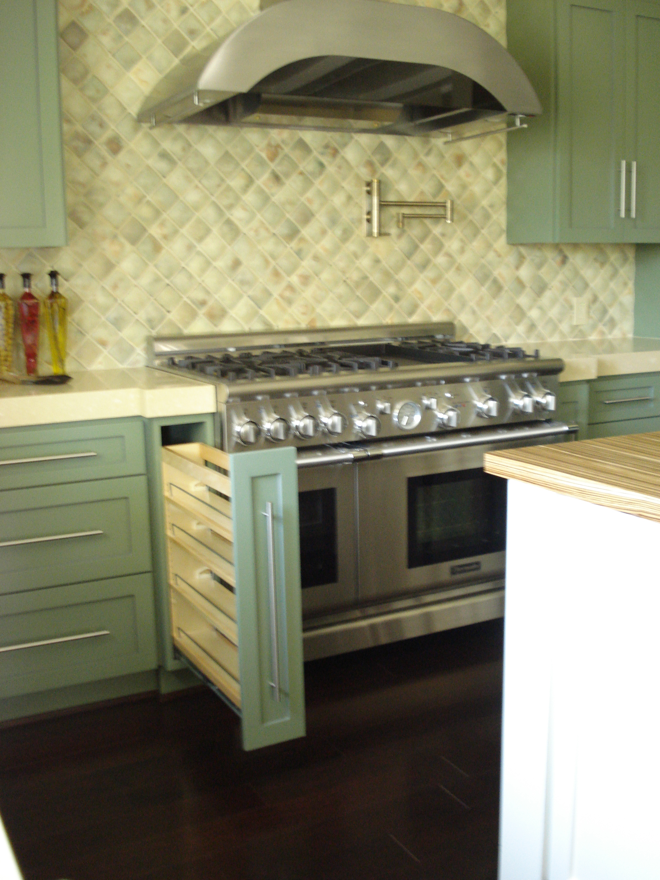Kitchen cabinet base blind corner - Base