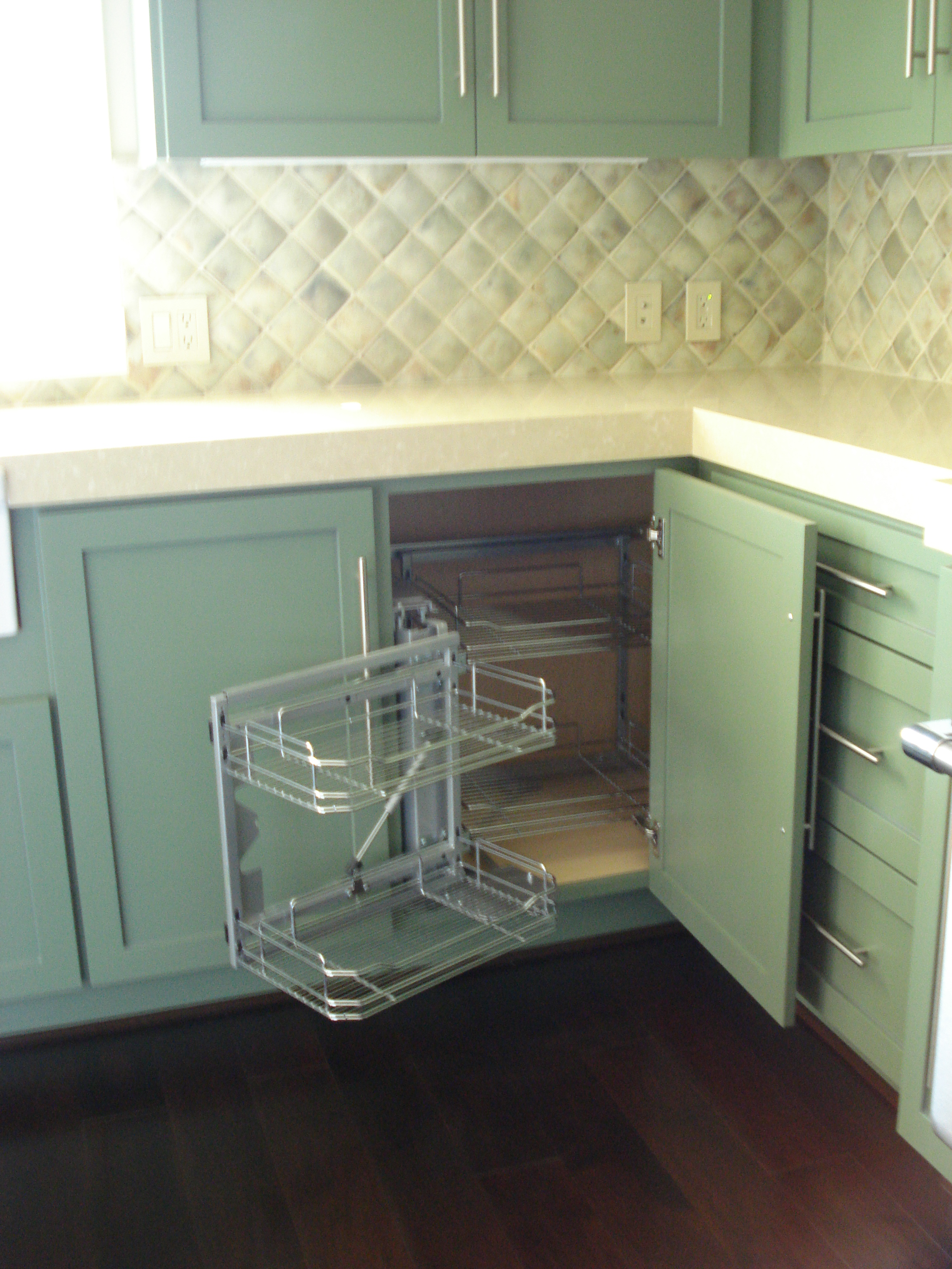 Kitchen Organizers Ideas Blind Corner Units Kbtribechat