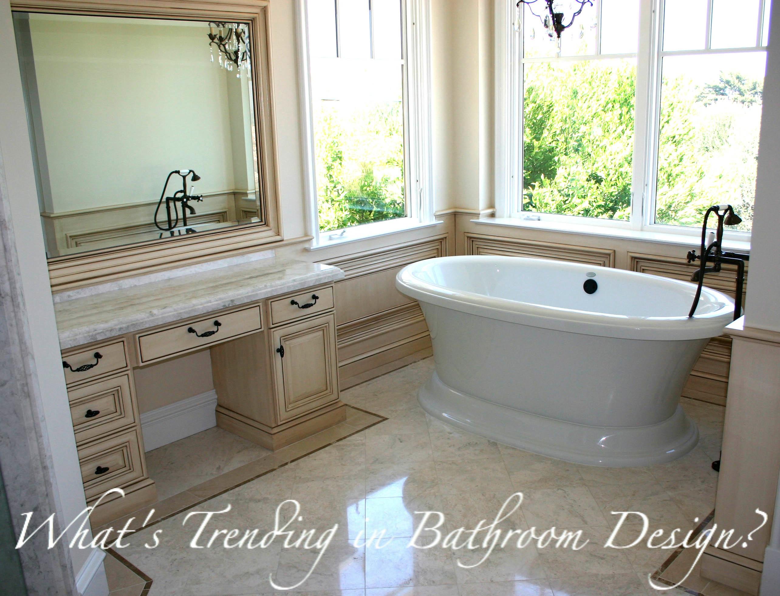 Trends in Bathroom Design! | kbtribe