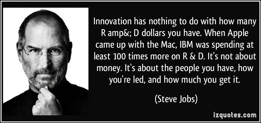quote-innovation-has-nothing-to-do-with-how-many-r-amp-d-dollars-you-have-when-apple-came-up-with-the-steve-jobs-94837