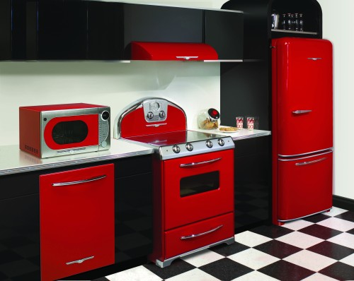 Elmira Stove Works - Northstar in Candy Red - Photo