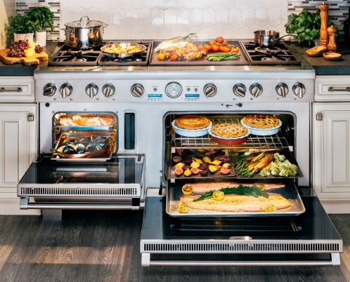 Thermador 60-Inch Pro Grand Steam Range Interior