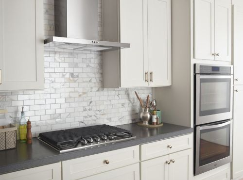 Whirlpool Built-In Oven, Cooktop, Hood and Vent