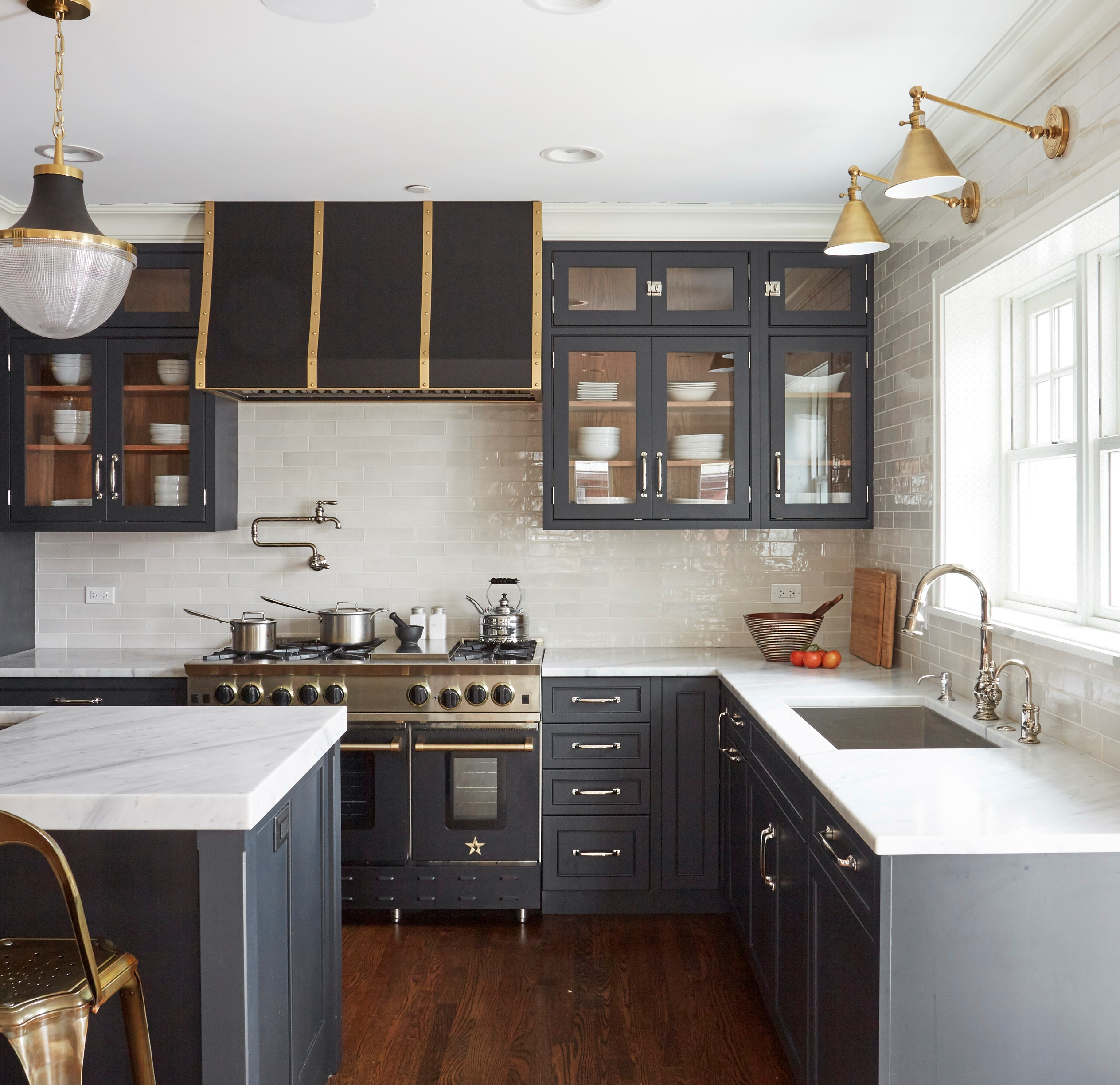 Addison Osta Smith Kitchen Photo BlueStar