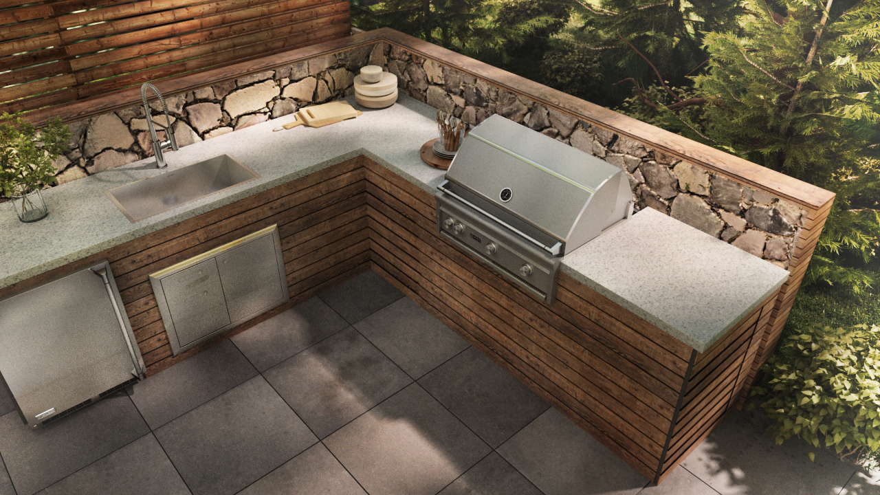 April 17 at #KBtribechat – Outdoor Kitchen Inspiration | KBtribechat