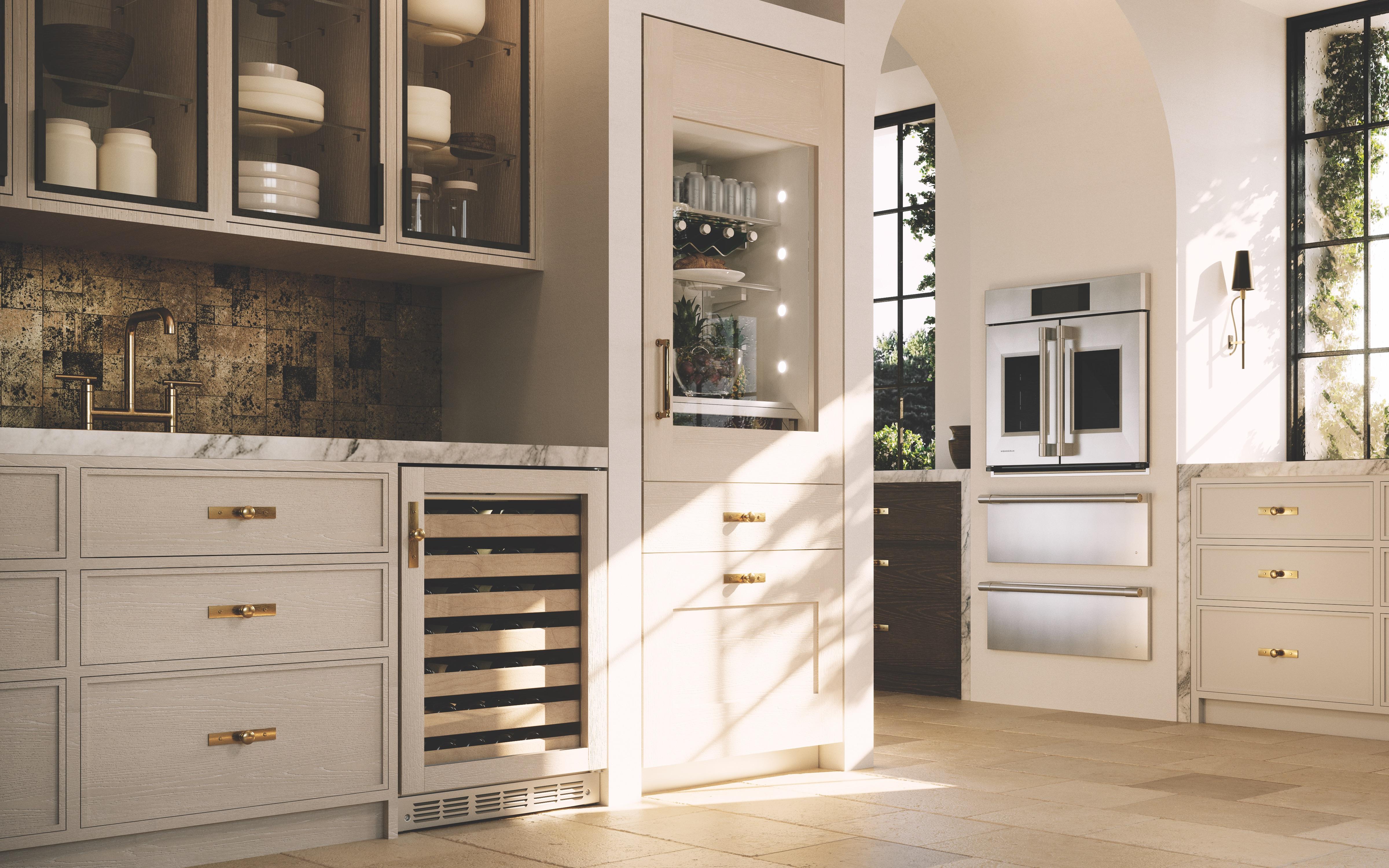Monogram French Door Wall Oven